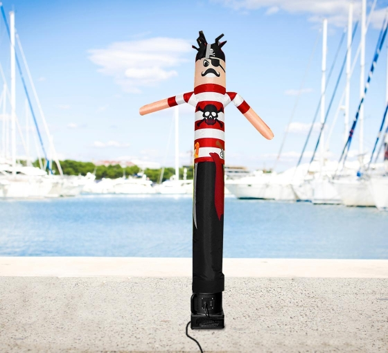 Pirate Inflatable Tube Man