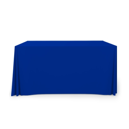 4' Pleated Table Covers - Blue