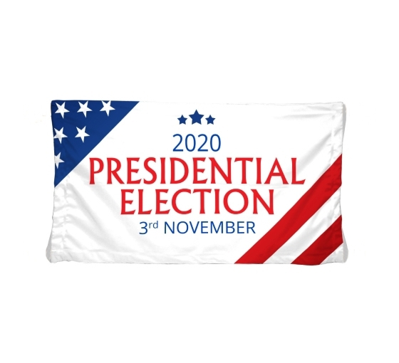 Political Polyester Fabric Banners
