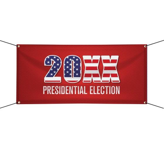 Political Vinyl Mesh Banners