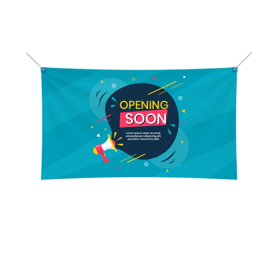 Processed Fabric Banner