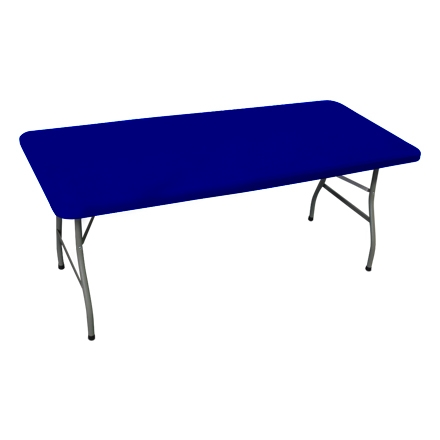 6' Rectangle Table Toppers - Blue
