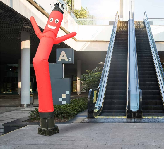 Red Inflatable Tube Man