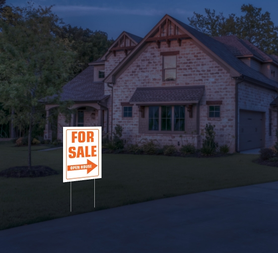 Reflective For Sale Yard Signs