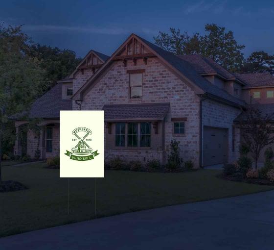 Reflective Logo Yard Signs