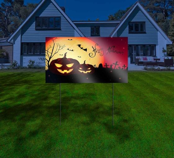 Halloween Reflective Yard Signs