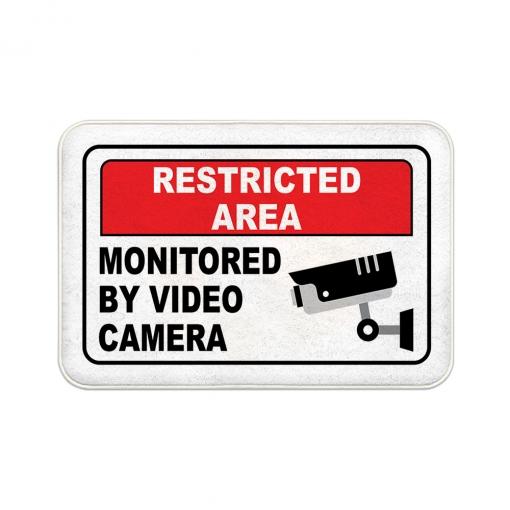 Restricted Area Floor Mats