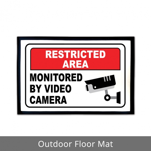 Restricted Area Outdoor Floor Mats
