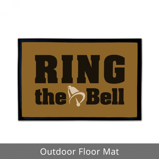 Ring The Bell Outdoor Floor Mats