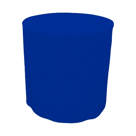 31.5'' Round Fitted Table Covers - Blue