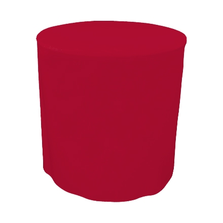 31.5'' Round Fitted Table Covers - Red