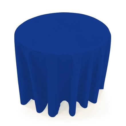 31.5'' Round Table Throws - Blue
