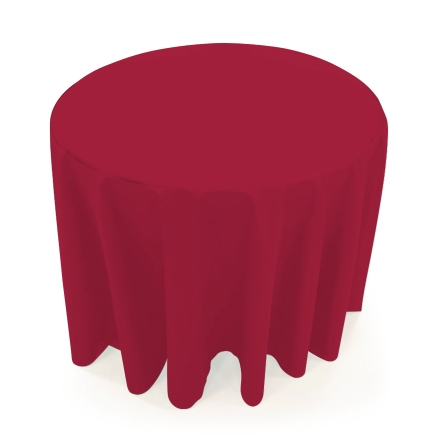 31.5'' Round Table Throws - Red