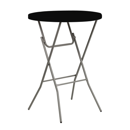 "31.5"" Round Table Toppers - Black"