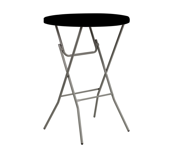 """31.5"""" Round Table Toppers - Black"""