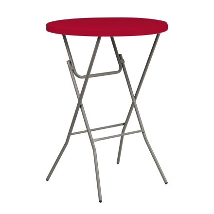 "31.5"" Round Table Toppers - Red"
