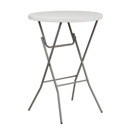 "31.5"" Round Table Toppers - White"