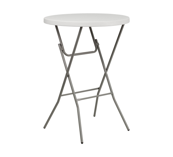 """31.5"""" Round Table Toppers - White"""