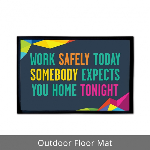 Safety Quote Outdoor Floor Mats