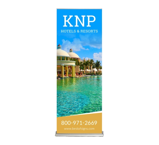 Silverstep 24'' Retractable Banner Stand