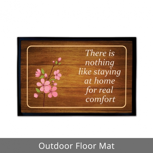 Staying At Home Outdoor Floor Mats