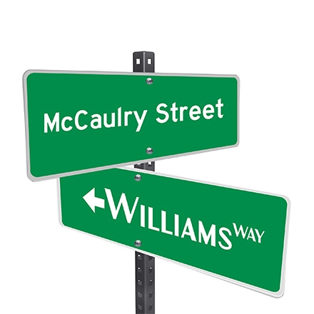 Personalized Custom Street Signs Quality Aluminum Sign 5 Colors