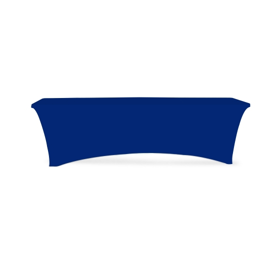 8' Stretch Table Covers - Blue