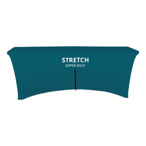 Stretch Table Cover - Zipper Back