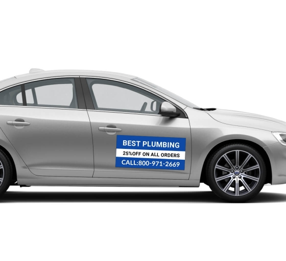 Limited Advertising Budget – Use Car Magnet Signs To Reach Out To Your Potential Customers!