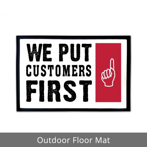 We Put Customers First Outdoor Floor Mats