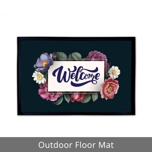 Welcome Outdoor Floor Mats