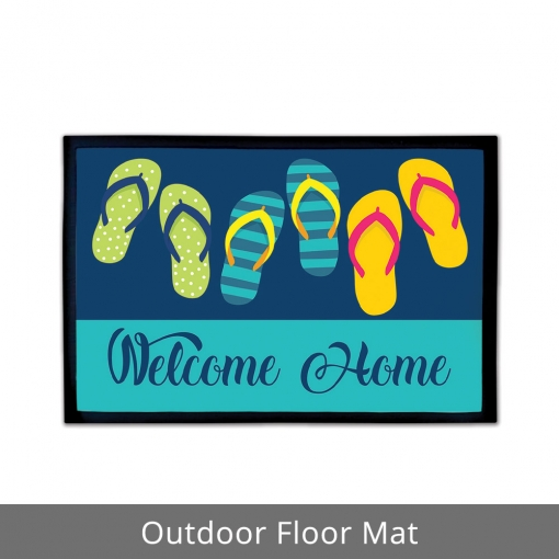 Welcome Home Outdoor Floor Mats