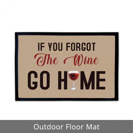 Wine Outdoor Floor Mats