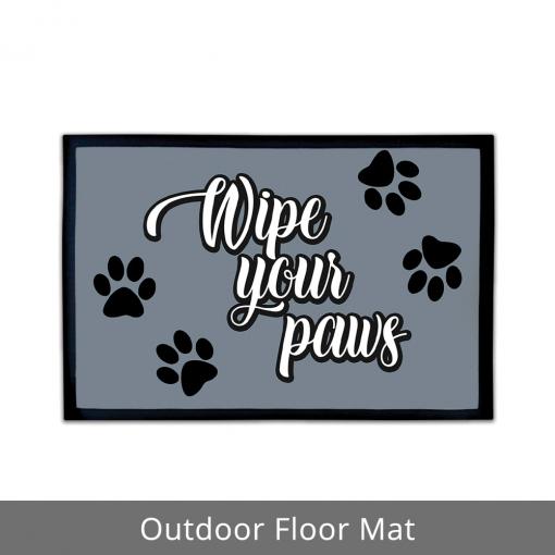 Wipe Your Paws Outdoor Floor Mats