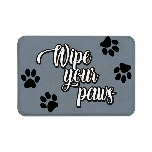 Wipe Your Paws Floor Mats