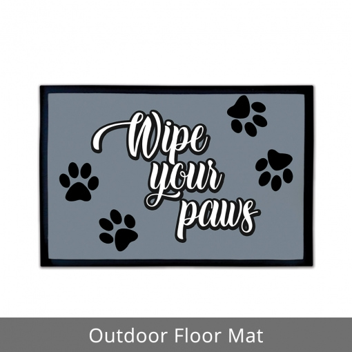 Wipe Your Paws Outdoor Floor Mats