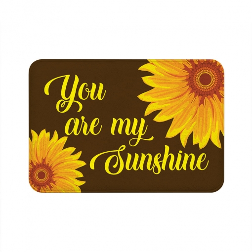 You Are My Sunshine Floor Mats